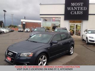 Used 2013 Audi A3 S-LINE AWD | DUAL ROOF | PADDLE SHIFTERS for sale in Kitchener, ON