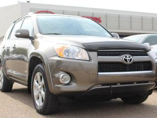 Used 2012 Toyota RAV4 LIMITED, SUNROOF, NAVI, BACKUP CAM, HEATED SEATS, CRUISE CONTROL, BLUETOOTH for sale in Edmonton, AB