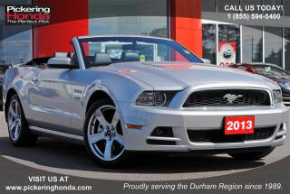 Used 2013 Ford Mustang GT CONVERTIBLE LEATHER BLUETOOTH for sale in Pickering, ON