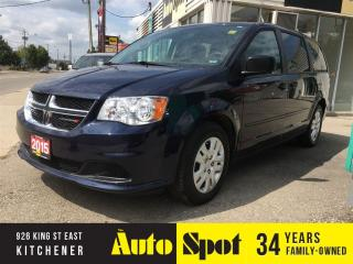 Used 2015 Dodge Grand Caravan SXT/SHOWROOM CONDITION/LOW, LOW KMS !!! for sale in Kitchener, ON