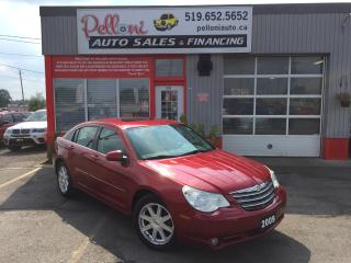 Used 2009 Chrysler Sebring TOURING|LEATHER|SUNROOF|REMOTE START for sale in London, ON