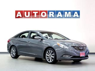 Used 2013 Hyundai Sonata LTD PKG LEATHER SUNROOF for sale in North York, ON