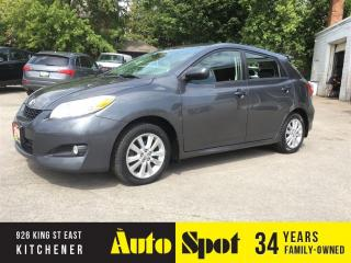 Used 2010 Toyota Matrix Base/PRICED FOR A QUICK SALE ! for sale in Kitchener, ON