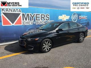 Used 2017 Chevrolet Malibu NAVIGATION, HEATED LEATHER SEATS, SUNROOF for sale in Ottawa, ON