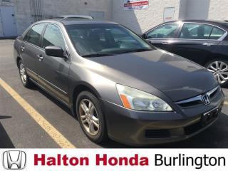 Used 2006 Honda Accord SE SUNROOF ALLOYS for sale in Burlington, ON