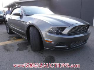 Used 2014 Ford MUSTANG PREMIUM 2D CONVERTIBLE for sale in Calgary, AB