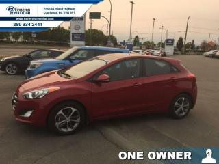 Used 2016 Hyundai Elantra GT GLS Manual  - one owner - local - trade-in for sale in Courtenay, BC