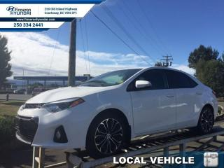 Used 2014 Toyota Corolla S  - one owner - local - trade-in - non-smoker for sale in Courtenay, BC