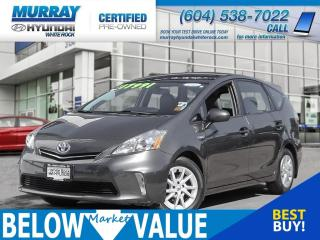 Used 2012 Toyota Prius V Base (CVT)**ALLOYWHEELS**BLUETOOTH** for sale in Surrey, BC