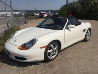 Used 2000 Porsche Boxster 5sp Manual, Newer Tires, 160pt for sale in Winnipeg, MB