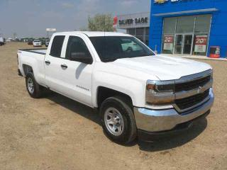 New 2017 Chevrolet Silverado WT 4WD Double C Base Level Work Truck for sale in Shaunavon, SK