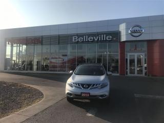 Used 2014 Nissan Murano SL AWD 1 OWNER LOCAL TRADE for sale in Belleville, ON