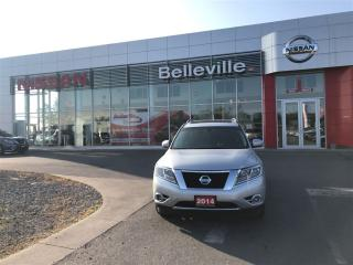 Used 2014 Nissan Pathfinder Platinum 4WD 1 OWNER LOCAL TRADE for sale in Belleville, ON