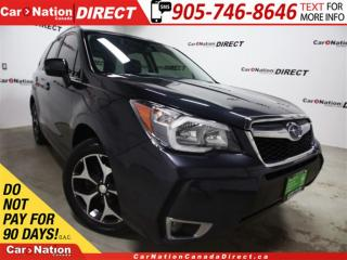 Used 2016 Subaru Forester 2.0XT Limited w/Tech Pkg| NAVI| SUNROOF| AWD| for sale in Burlington, ON