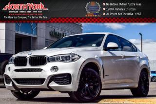 Used 2017 BMW X6 xDrive35i|Cld Wthr.,Driver Asst+.,M SportPkgs|Sunroof|H/K Audio|20