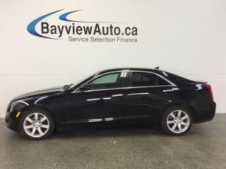 Used 2014 Cadillac ATS - 2.5L! TINT! HTD LTHR! REV CAM! BOSE! for sale in Belleville, ON