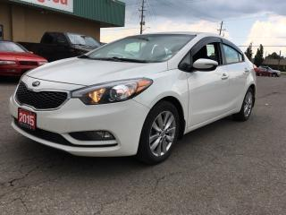 Used 2015 Kia Forte 1.8L LX $102.21 BI WEEKLY! $0 DOWN! HUGE PRICE DROP! CERTIFIED! DEALER OF THE YEAR 2015 & 2016! for sale in Bolton, ON