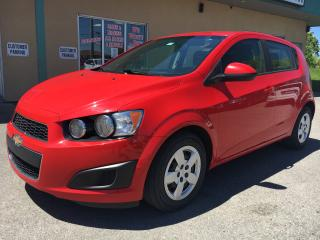 Used 2015 Chevrolet Sonic LS Auto $76.26 BI WEEKLY! $0 DOWN! 2015 & 2016 DEALER OF THE YEAR! for sale in Bolton, ON