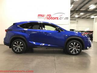 Used 2015 Lexus NX 200t AWD F Sport Low 9544 KMS Navigation Panoramic for sale in St George Brant, ON