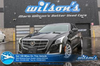 Used 2014 Cadillac CTS LEATHER! NAVIGATION! HEATED+COOLED SEATS! HEATED STEERING! PWR+MEMORY SEAT! PUSH BUTTON START! BOSE! for sale in Guelph, ON