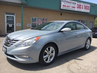 Used 2011 Hyundai Sonata WEEKLY SPECIAL! HUGE PRICE DROP! LEATHER & SUNROOF! $103.13 BI WEEKLY! $0 DOWN! CERTIFIED! for sale in Bolton, ON