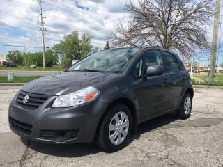 Used 2013 Suzuki SX4 JA 3 MONTHS OF SIRIUSXM FREE* $65.85 BI WEEKLY! $0 DOWN! HUGE PRICE DROP!!! AUTOMATIC! LOW KMS! for sale in Bolton, ON