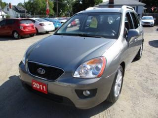Used 2011 Kia Rondo 'GREAT VALUE' POWER EQUIPPED EX MODEL 5 PASSENGER 2.4L - DOHC.. HEATED SEATS.. BLUETOOTH.. CD/AUX/USB INPUT.. KEYLESS ENTRY.. for sale in Bradford, ON
