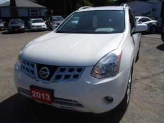 Used 2013 Nissan Rogue POWER EQUIPPED SV MODEL 5 PASSENGER 2.5L - DOHC.. ALL-WHEEL DRIVE.. BLUETOOTH.. TOUCH SCREEN DISPLAY.. NAVIGATION.. POWER SUNROOF.. BACK UP CAMERA.. for sale in Bradford, ON