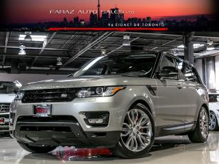 Used 2014 Land Rover Range Rover Sport V8|SUPERCHARGED|DYNAMIC|BLINDSPOT|NAVI|360 CAM for sale in North York, ON