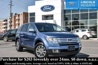 Used 2009 Ford Edge SEL FWD for sale in Ottawa, ON