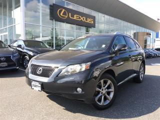Used 2010 Lexus RX 350 6A for sale in Surrey, BC