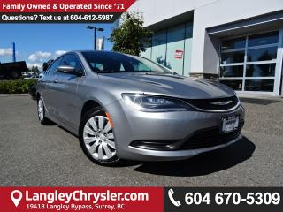 Used 2015 Chrysler 200 LX *ACCIDENT FREE*ONE OWNER*LOCAL BC CAR* for sale in Surrey, BC