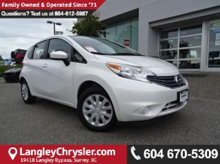 Used 2016 Nissan Versa Note 1.6 S *ACCIDENT FREE * LOCAL BC CAR * for sale in Surrey, BC