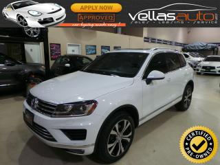 Used 2017 Volkswagen Touareg 3.6L Wolfsburg Edition 3.6L| WOLFSBURG EDITION| for sale in Woodbridge, ON