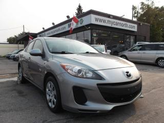 Used 2013 Mazda MAZDA3 GX for sale in North Bay, ON