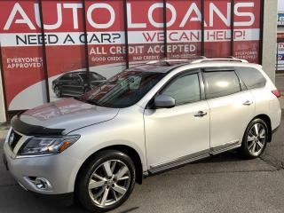 Used 2013 Nissan Pathfinder Platinum PLATINUM-ALL CREDIT ACCEPTED for sale in Scarborough, ON