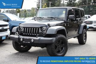 Used 2011 Jeep Wrangler Unlimited Rubicon Satellite Radio and Air Conditioning for sale in Port Coquitlam, BC