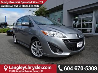 Used 2017 Mazda MAZDA5 GT *ACCIDENT FREE*ONE OWNER*LOCAL BC CAR* for sale in Surrey, BC