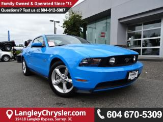 Used 2011 Ford Mustang GT *ACCIDENT FREE*ONE OWNER*LOCAL BC CAR* for sale in Surrey, BC