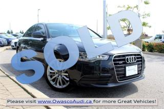 Used 2014 Audi A6 *SOLD* quattro Technik w/ Top View Camera for sale in Whitby, ON