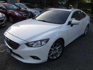 Used 2014 Mazda MAZDA6 GS-TECH-PKG-NAVIGATION-CAMERA-LOADED for sale in Scarborough, ON
