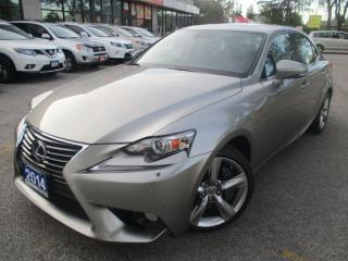Used 2014 Lexus IS 350 NAVIGATION-CAMERA-LOADED for sale in Scarborough, ON