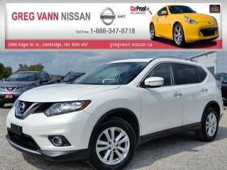 Used 2014 Nissan Rogue SV FWD w/heated seats,pan roof,xm radio,sport mode,cruise,rear cam for sale in Cambridge, ON