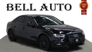 Used 2013 Audi A4 PREMIUM PACKAGE LEATHER SUNROOF for sale in North York, ON