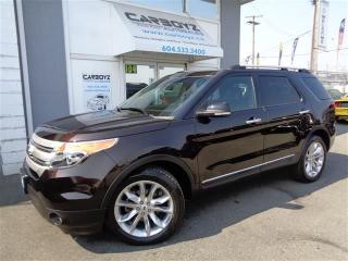 Used 2013 Ford Explorer XLT 4WD, Nav, Leather, Sunroof, Tow Package for sale in Langley, BC