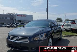Used 2013 Nissan Maxima SV |Sport Tech Pkg|Navi|Roof| for sale in Scarborough, ON