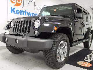 Used 2015 Jeep Wrangler Unlimited Sahara Unlimited 4x4 trail rated!! for sale in Edmonton, AB