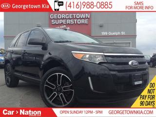 Used 2014 Ford Edge SEL| NAVI | LEATHER| AWD | PANO ROOF | BACK UP CAM for sale in Georgetown, ON