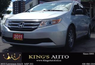 Used 2011 Honda Odyssey EX 8 PASS,GREAT FOR TOURING, BACK-UP CAM for sale in Scarborough, ON