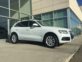 Used 2013 Audi Q5 NAV/BACK UP MONITOR/HEATED SEATS/BLIND SPOT for sale in Edmonton, AB